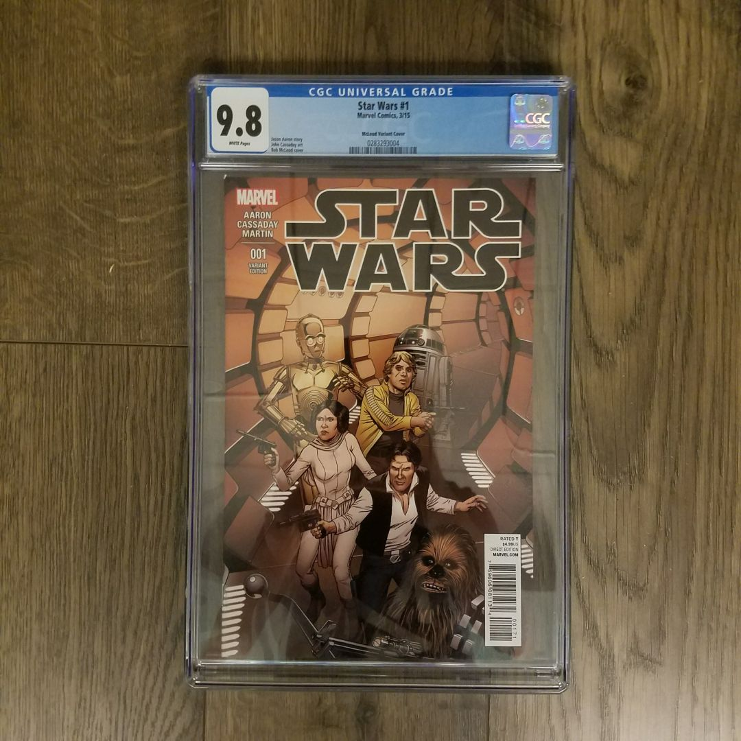 Star Wars (2015) #1 CGC 9.8 Front Cover