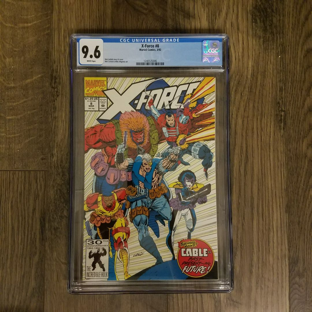 X-Force #8 CGC 9.6 Front