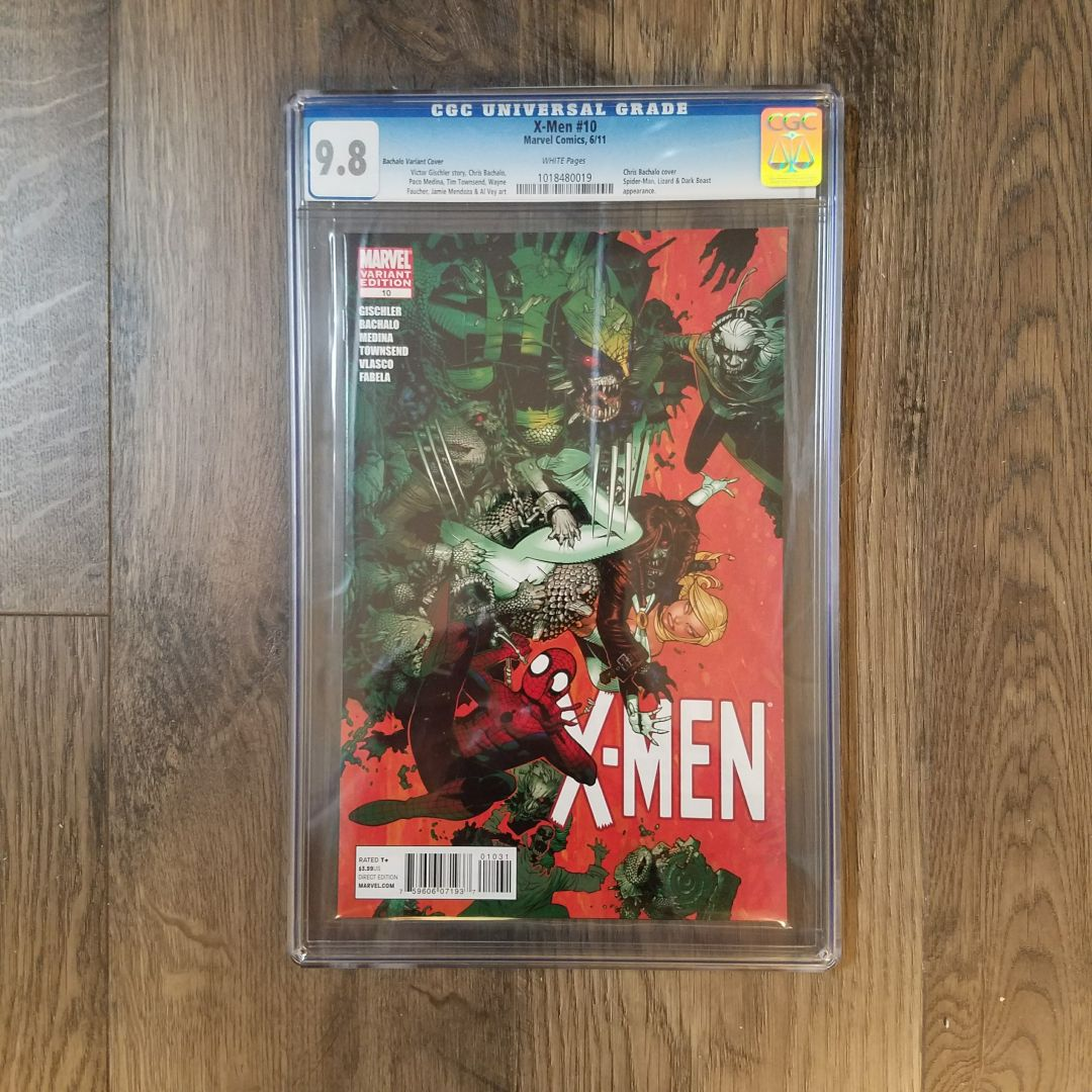 X-Men #10 (Vol 3) CGC 9.8 Front
