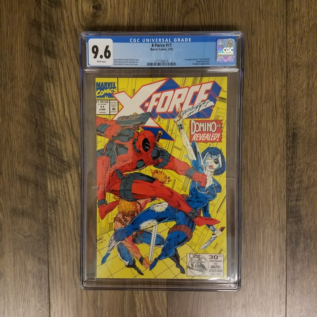 X-Force #11 CGC 9.6 Front