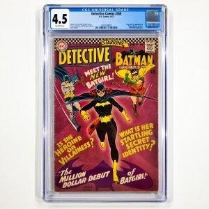 Detective Comics #359 CGC 4.5 VG+ Front