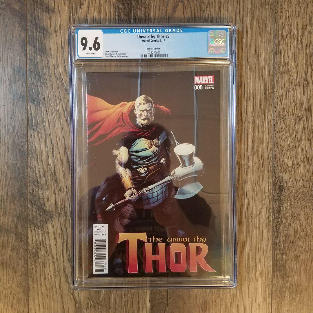 Unworthy Thor #5 CGC 9.6 Front