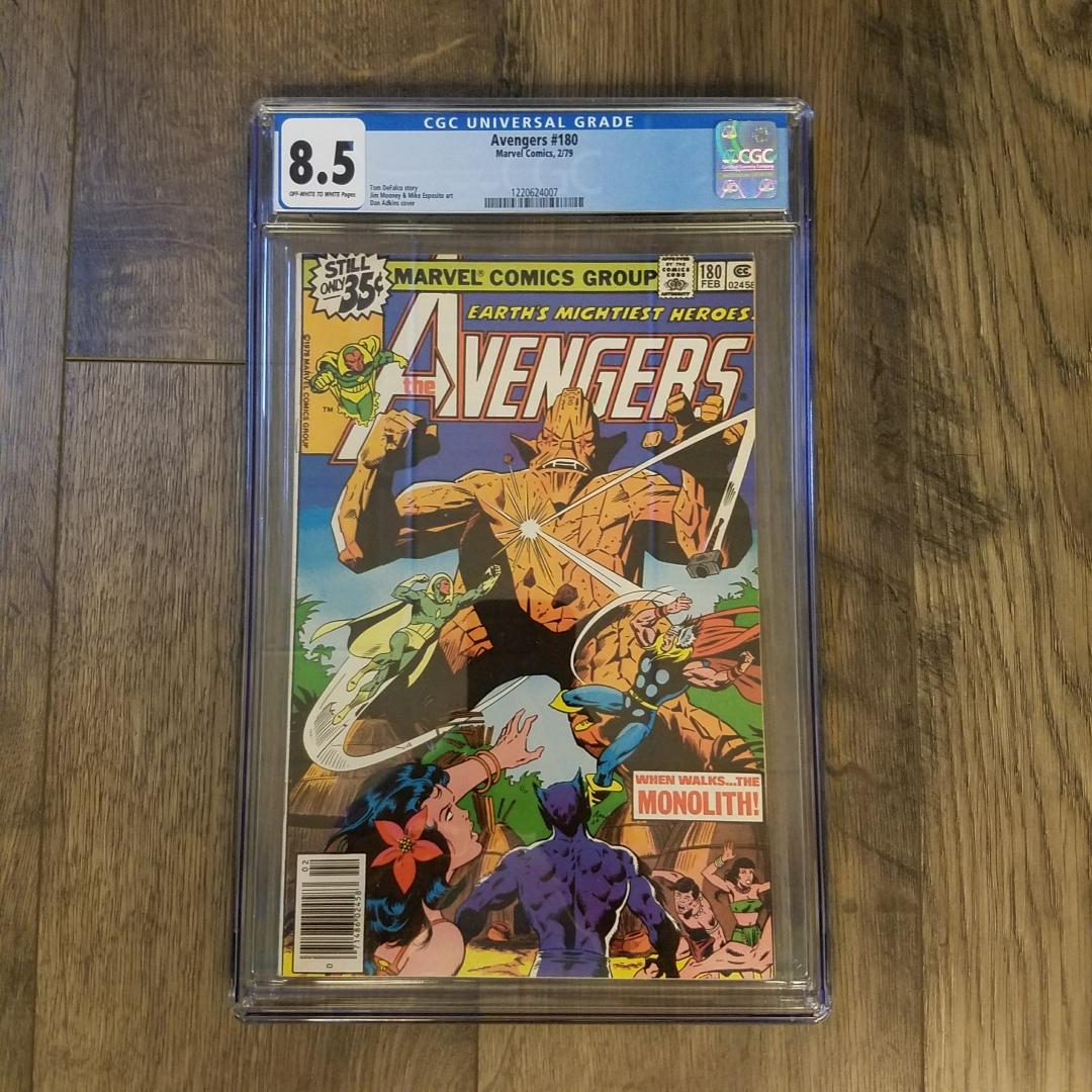 Avengers #180 CGC 8.5 Front