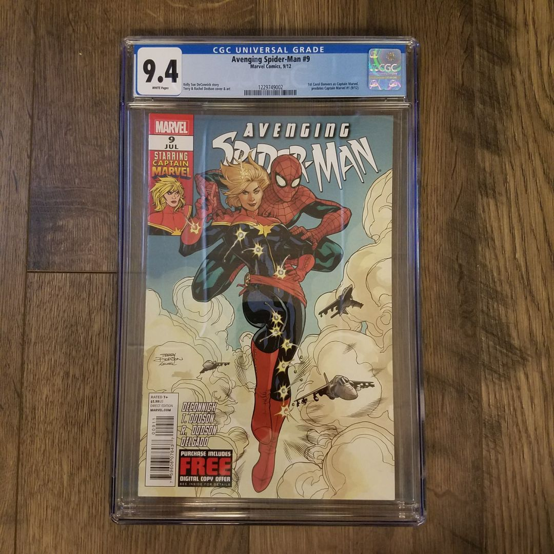 Avenging Spider-Man #9 CGC 9.4 Front
