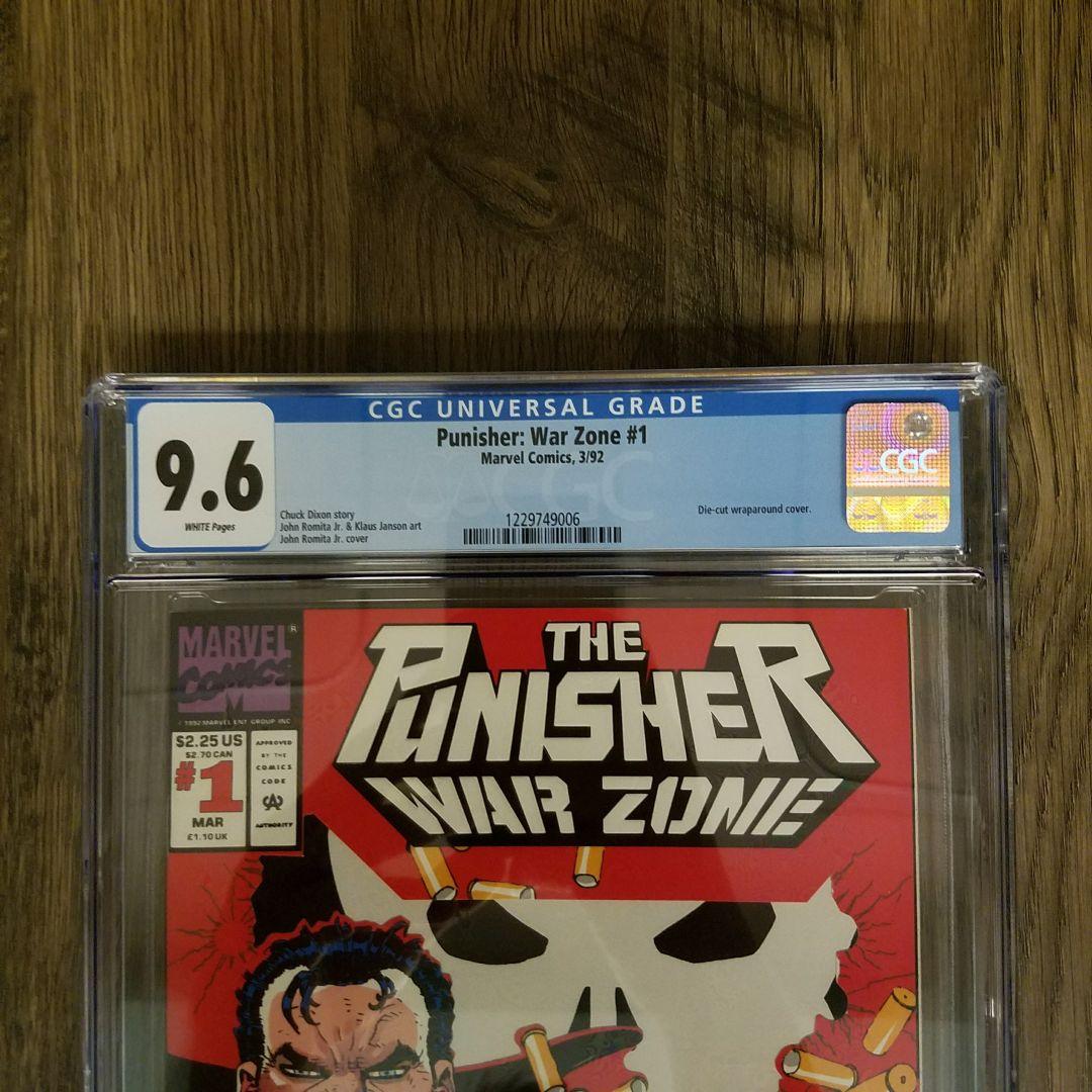 Punisher War Zone #1 CGC 9.8 Front Label