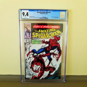Amazing Spider-Man #361 CGC 9.4 NM Front