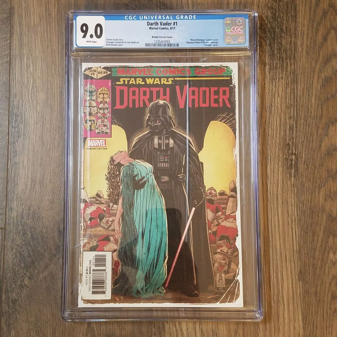 Darth Vader #1 (2017) CGC 9.0 Front Cover