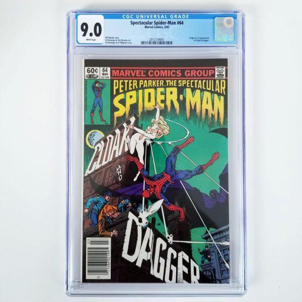 Spectacular Spider-Man #64 CGC 9.0 Front