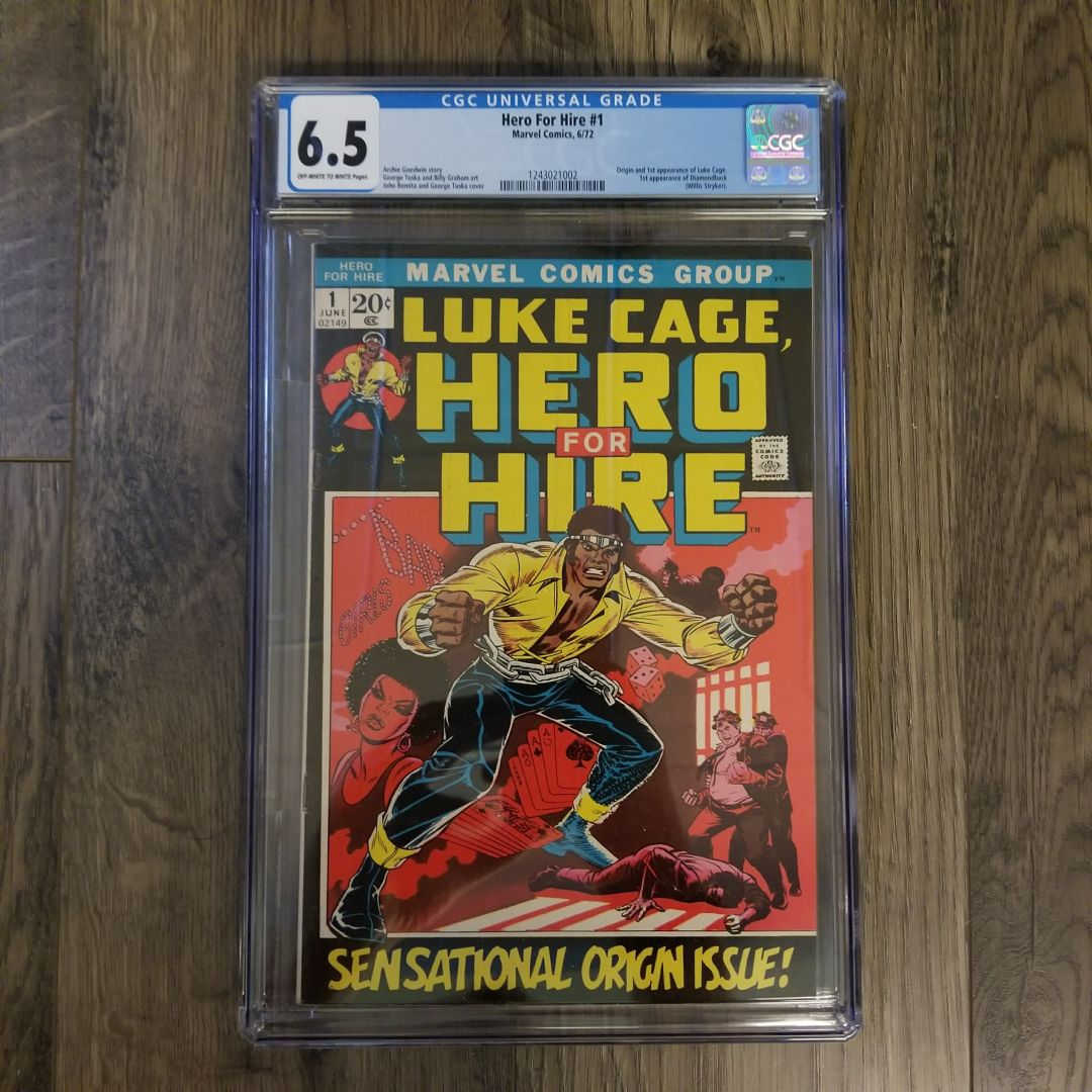 Hero For Hire #1 CGC 6.5