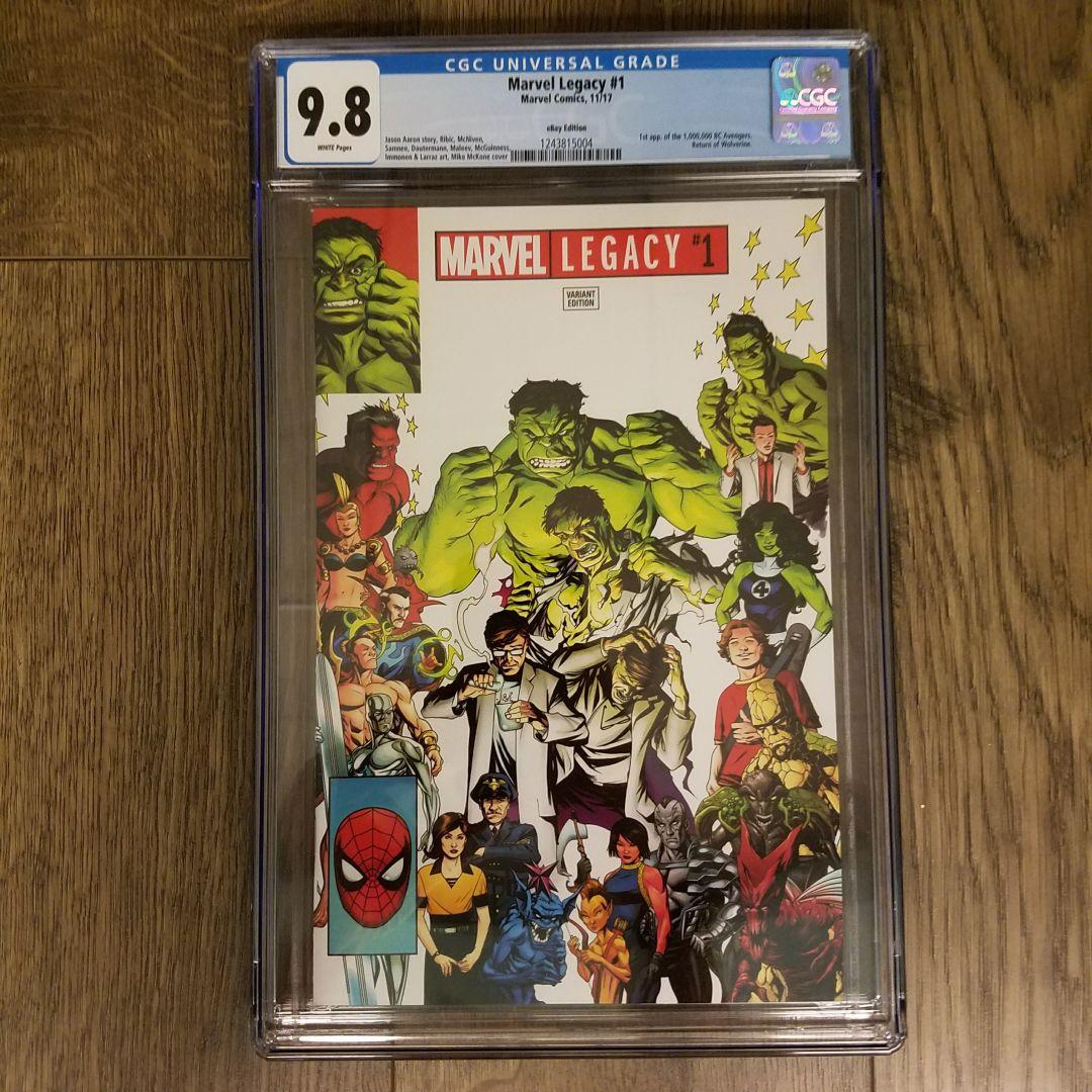 Marvel Legacy #1 CGC 9.8 eBay Variant Front