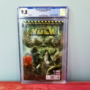 Totally Awesome Hulk #22 CGC 9.8 Front
