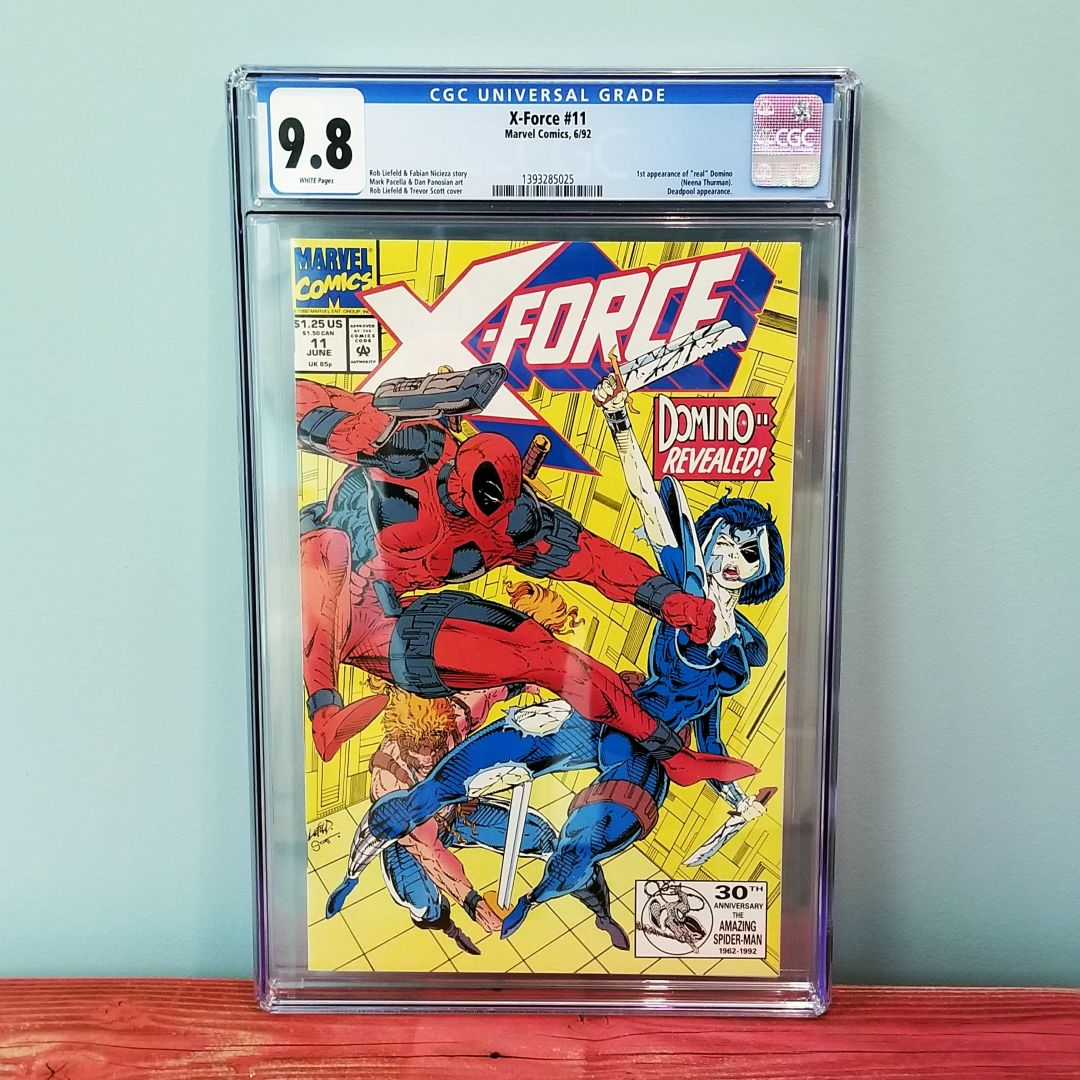 X-Force #11 CGC 9.8 Front