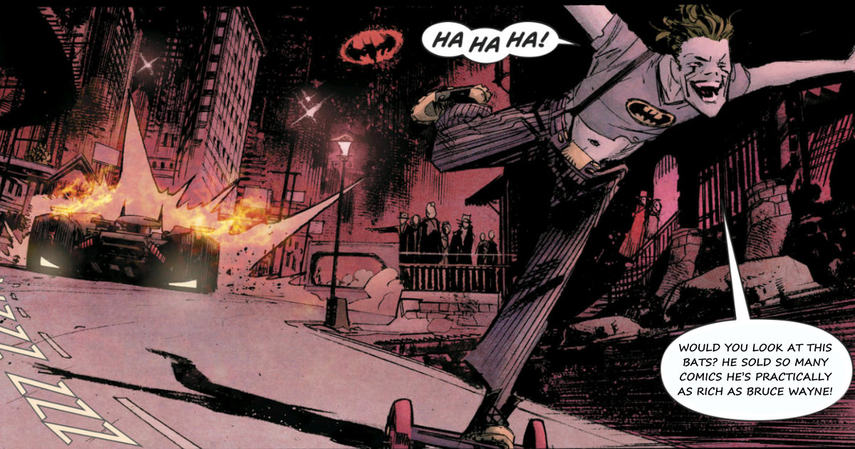 Batman: White Knight #1 parody