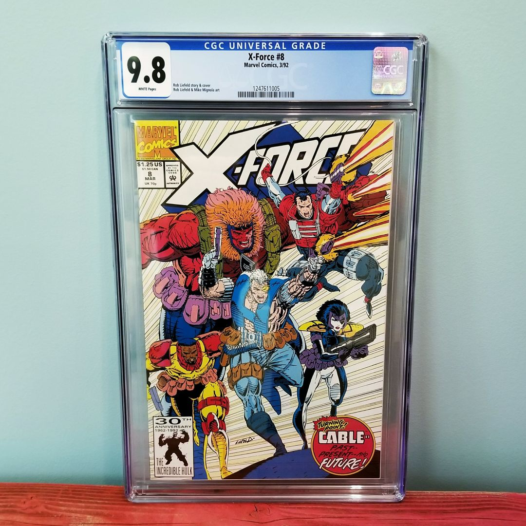 X-Force #8 CGC 9.8 Front