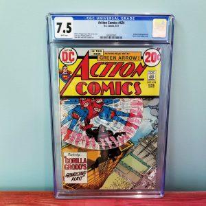 Action Comics #424 CGC 7.5 Front