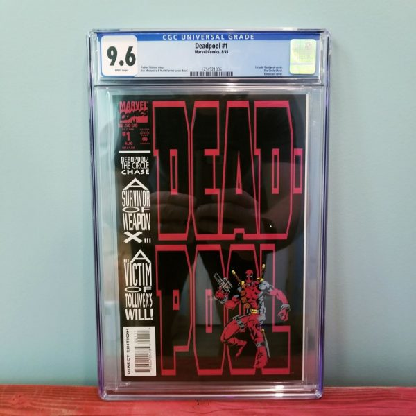 Deadpool: The Circle Chase #1 CGC 9.6 Front