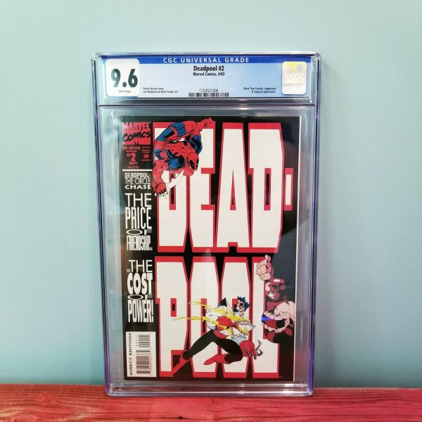 Deadpool: The Circle Chase #2 CGC 9.6 Front