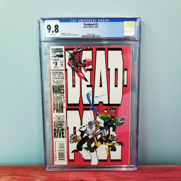 Deadpool: The Circle Chase #3 CGC 9.8 Front