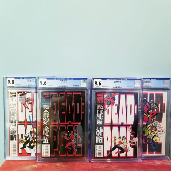Deadpool: The Circle Chase 1-4 CGC High Grade Set