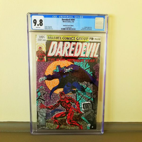 Daredevil #597 CGC 9.8 Shattered Comics Edition Front