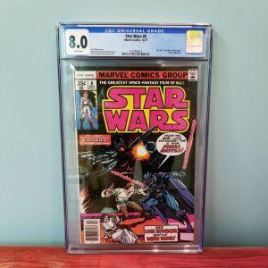 Star Wars #6 (1977) CGC 8.0 Front