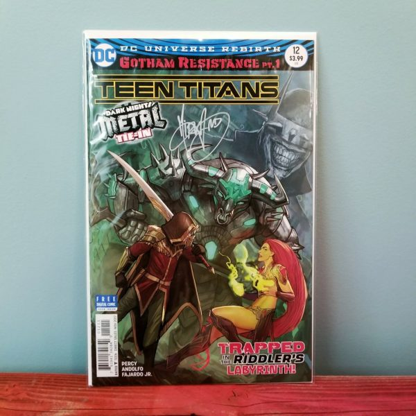 Teen Titans #12 Signed by Mirka Andolfo