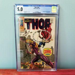 Thor #140 CGC 5.0 Front