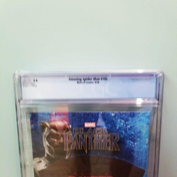 Amazing Spider-Man #795 CGC 9.8 Back Label
