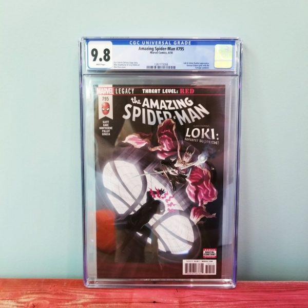 Amazing Spider-Man #795 CGC 9.8 Front