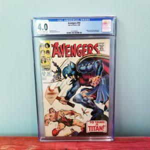 Avengers #50 CGC 4.0 Front