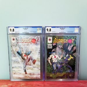 Bloodshot #6 & #7 CGC 9.8 First Appearance Ninjak