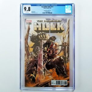 Incredible Hulk #711 CGC 9.8 Checchetto Variant Front