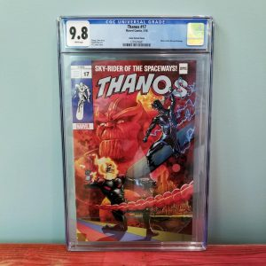 Thanos #17 CGC 9.8 J.G. Jones Trade Dress Variant Front