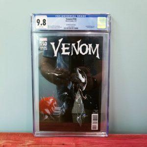 Venom #150 CGC 9.8 Gabriele Dell'Otto 1:25 Variant Front
