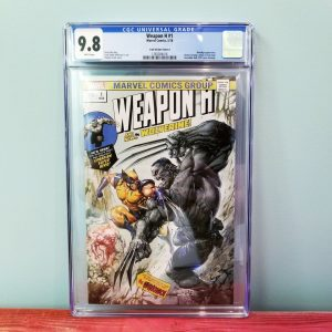 Weapon H #1 Clayton Crain Trade Dress Variant CGC 9.8 Front