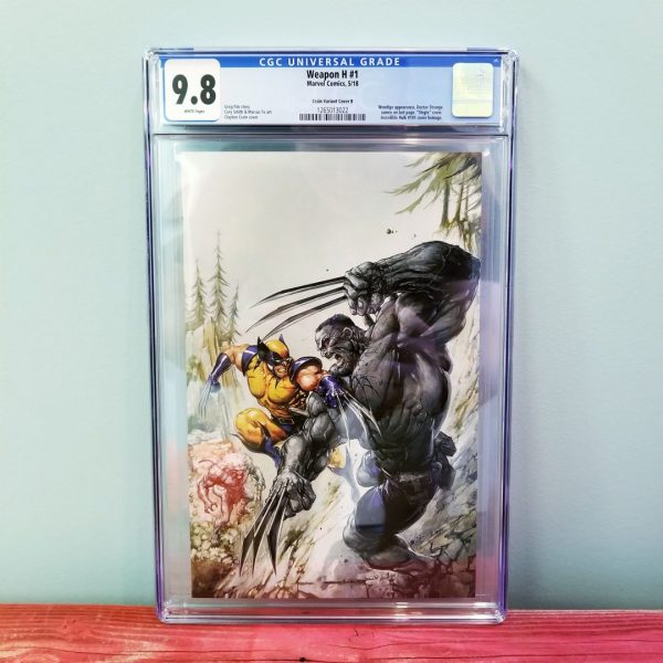 Weapon H #1 Clayton Crain Virgin Variant CGC 9.8 Front