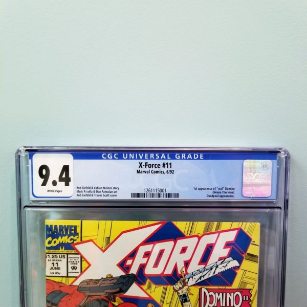 X-Force #11 CGC 9.4 Front Label