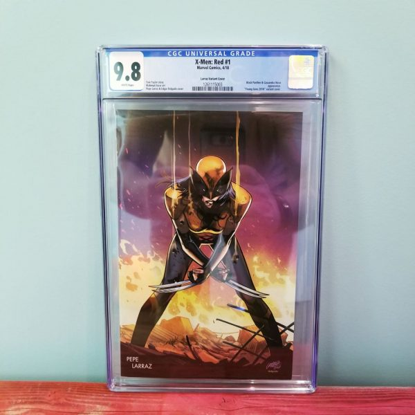 X-Men Red #1 CGC 9.8 Young Guns Variant Front