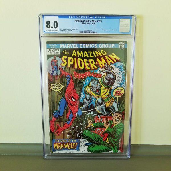 Amazing Spider-Man #124 CGC 8.0 Front