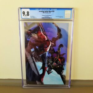 Amazing Spider-Man #797 ComicXposure Dell'Otto Virgin Variant CGC 9.8 Front