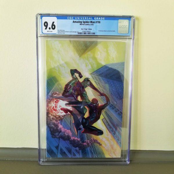 Amazing Spider-Man #798 CGC 9.6 Alex Ross Virgin Variant Front