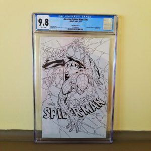 Amazing Spider-Man #798 CGC 9.8 Land Sketch Variant Front