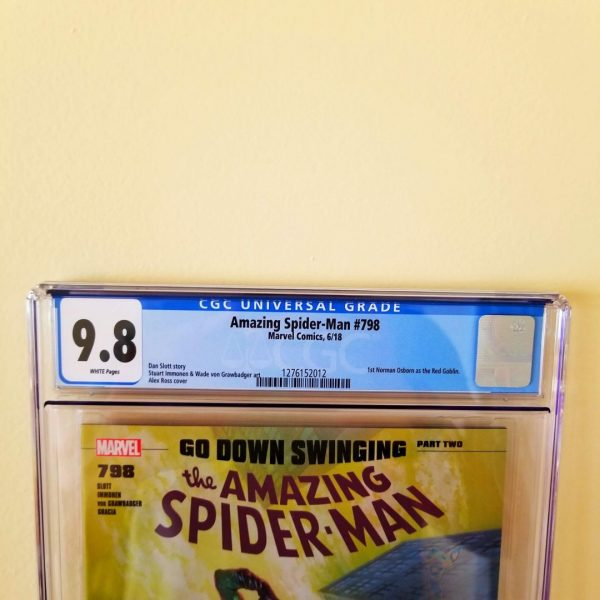 Amazing Spider-Man #798 CGC 9.8 Front Label