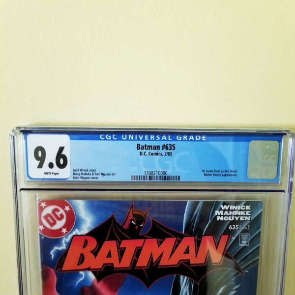 Batman #635 CGC 9.6 NM+ Front Label