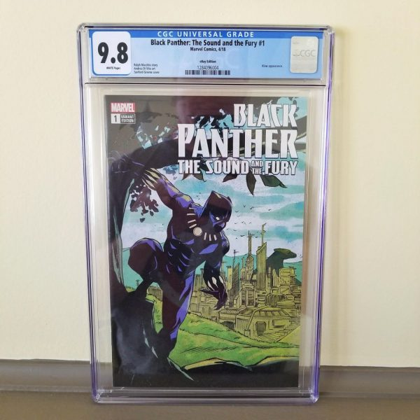 Black Panther The Sound And The Fury #1 CGC 9.8 Front