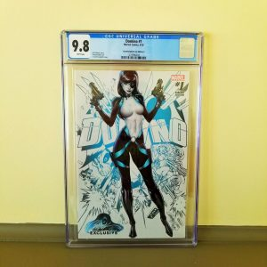 Domino #1 CGC 9.8 J. Scott Campbell Cover A Front
