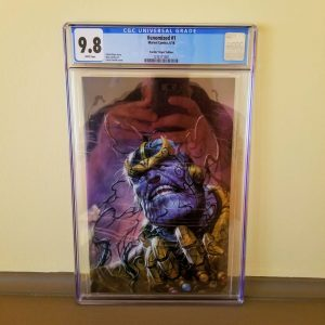 Venomized #1 Parillo Virgin Variant CGC 9.8 Front