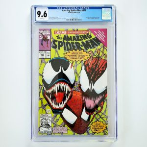 Amazing Spider-Man #363 CGC 9.6 NM+ Front