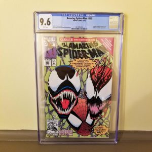Amazing Spider-Man #363 CGC 9.6 Front