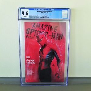 Amazing Spider-Man #800 Dell'Otto 1:25 Variant CGC 9.6 Front